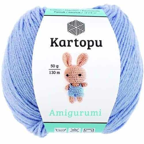 Kartopu Amigurumi Farbe K920 hellgrau | 500x500